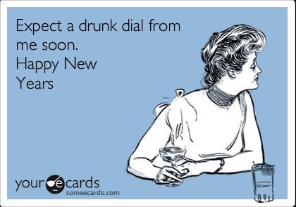drunk dial HNY