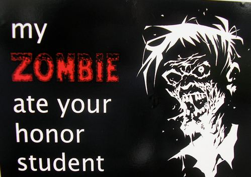 zombie ate your honor student