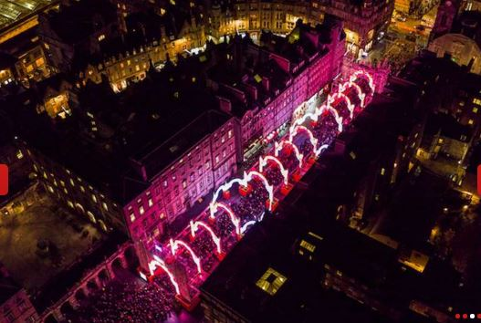 edinburgh fest of lights1