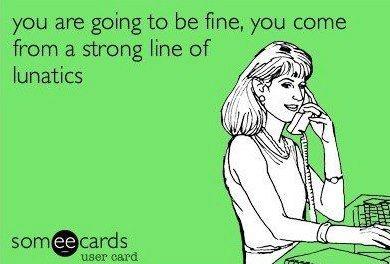 strong line of lunatics