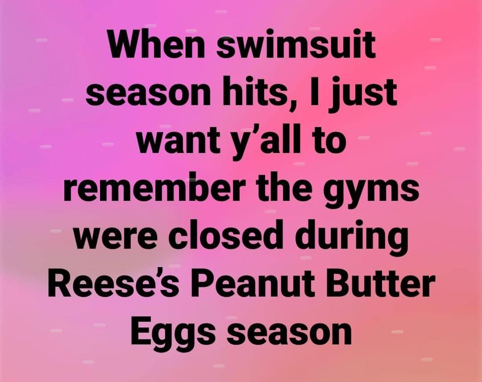just remember PB egg season