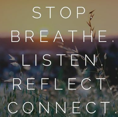 stop breath re connect