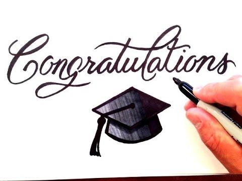 write congrats